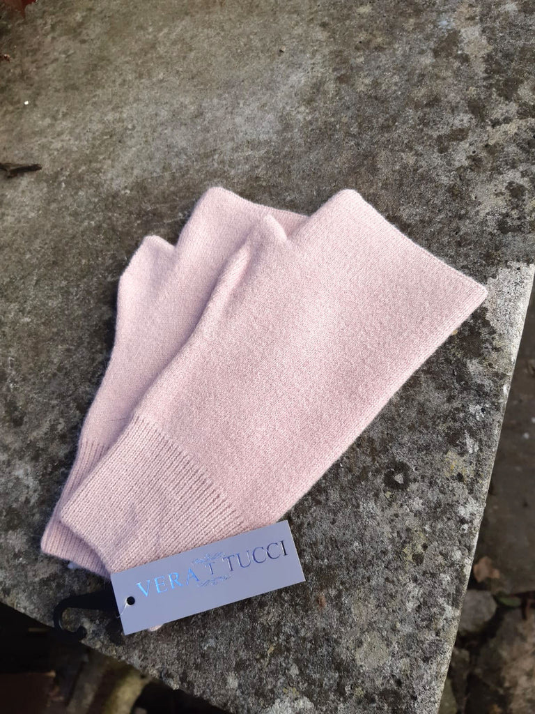 Gloves CAMILLE - FINGERLESS GLOVES TO MATCH OUR HATS (PLAIN) - Vera Tucci OriginalsAccessories DUSTY PINK ?id=17218244739209