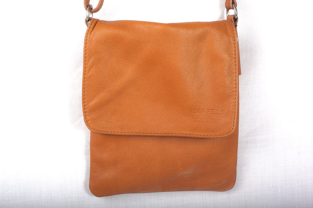 Leather Bag Faye Classic - Vera Tucci OriginalsBags Tan