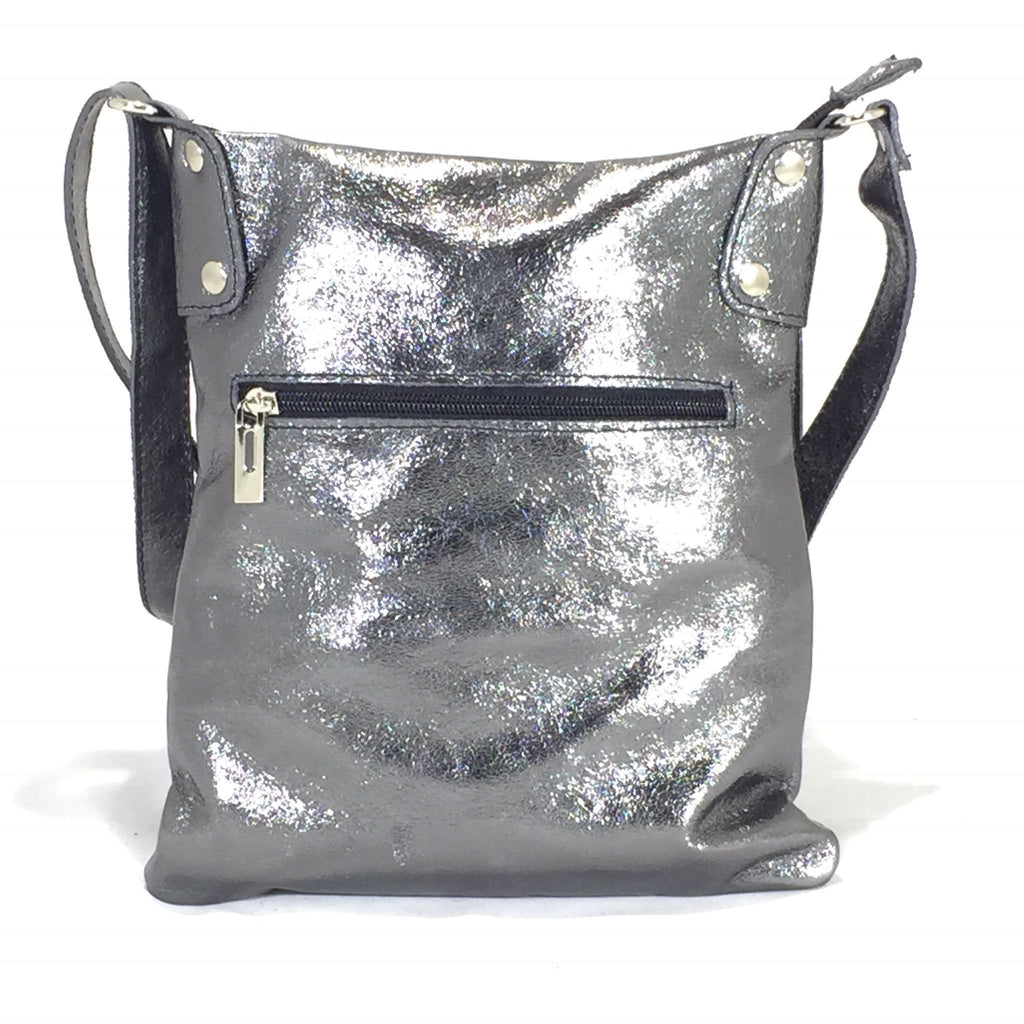 Leather Bag Abby (Metallic Leather) - Vera Tucci OriginalsBags