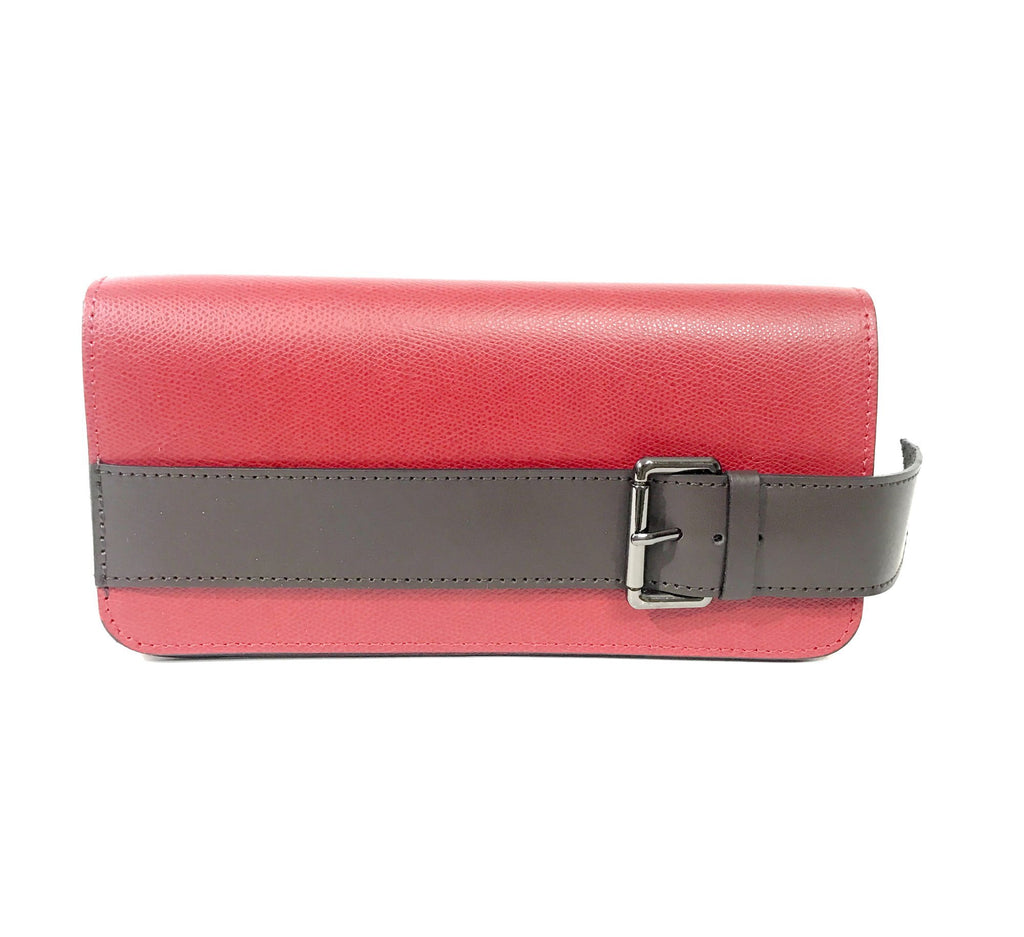 Leather Bag Heather LE1020 - Vera Tucci OriginalsBags RED
