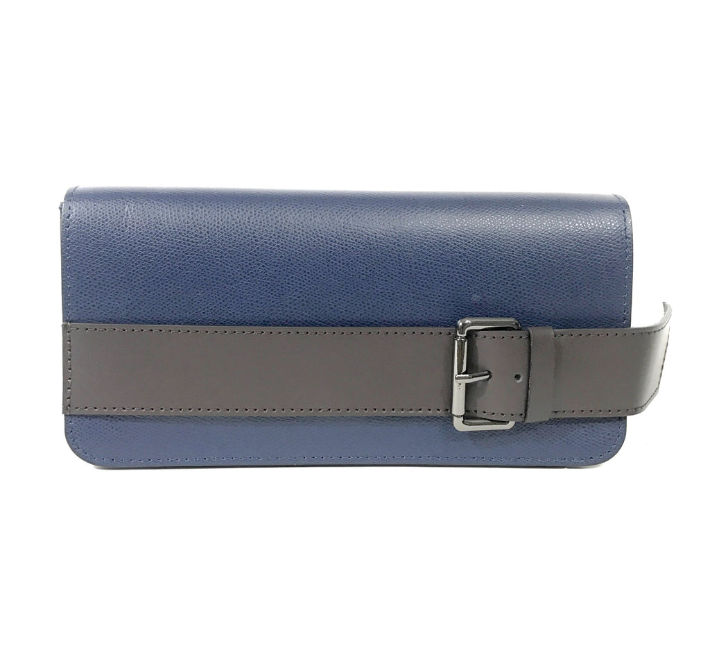 Leather Bag Heather LE1020 - Vera Tucci OriginalsBags NAVY