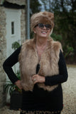 GLORIA - FAUX  FUR GILET