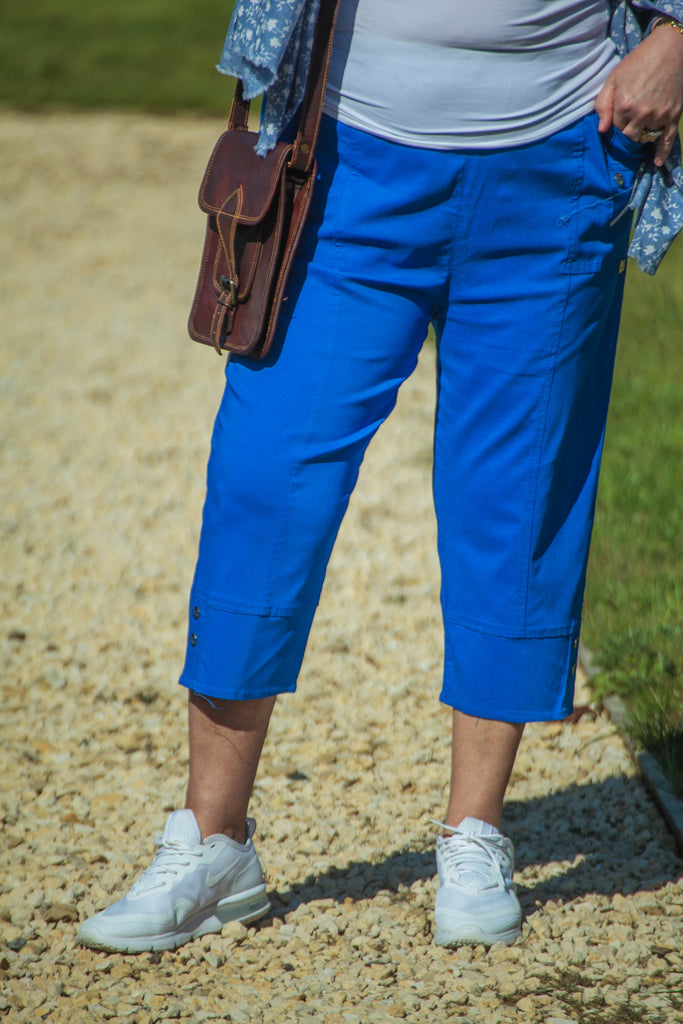 Trousers CAPRICE - SS21 NEW TROUSERS (ADDITIONAL COLOURS) - Vera Tucci OriginalsLondon Clothing ?id=28075223646345