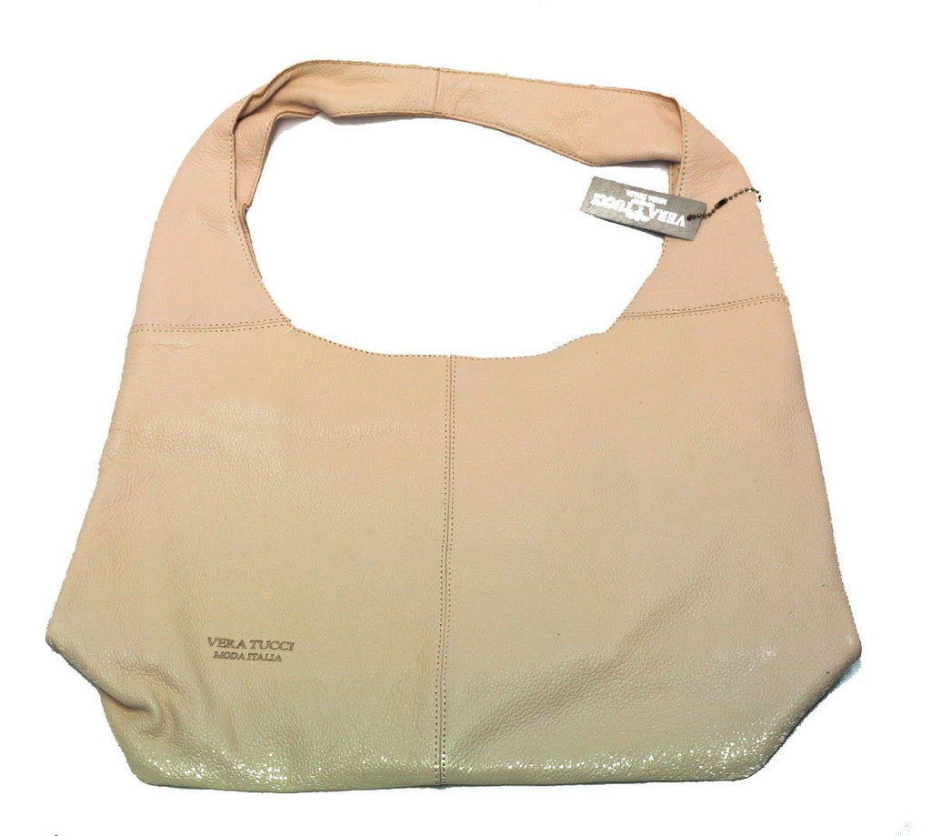 Leather Bag Joanna Milled Leather Bag - Vera Tucci OriginalsBags