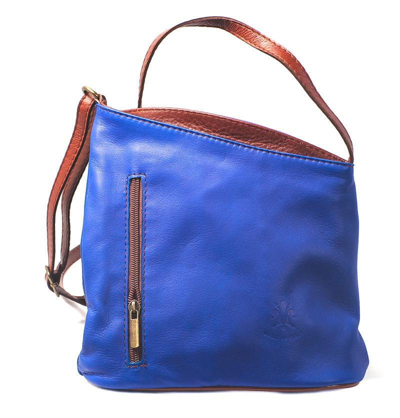 Leather Bag Lindsey Small - Vera Tucci OriginalsBags