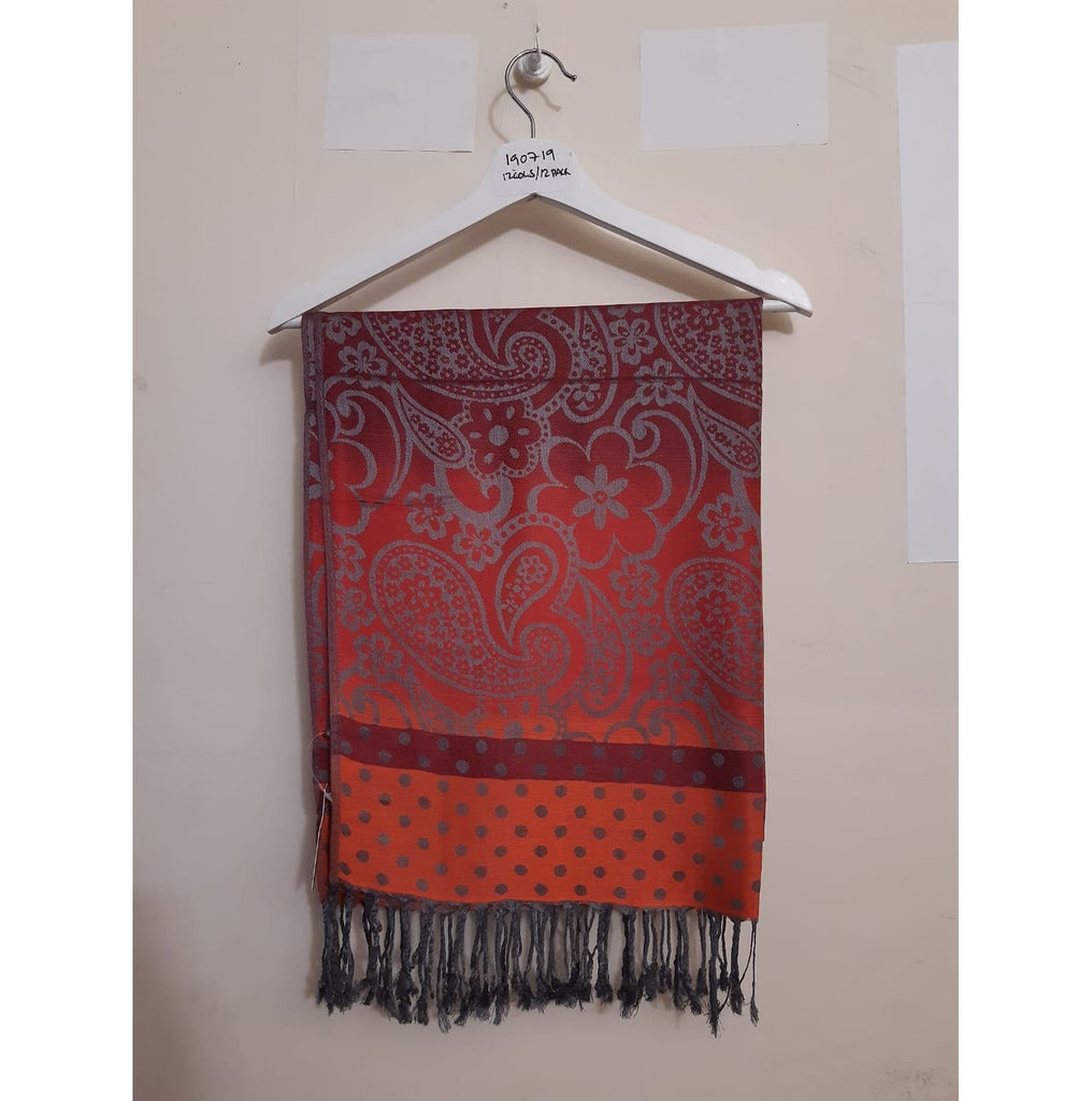 Scarves Pashmina Scarf - PSH190719 - Vera Tucci OriginalsAccessories 4 Orange ?id=13634377646217
