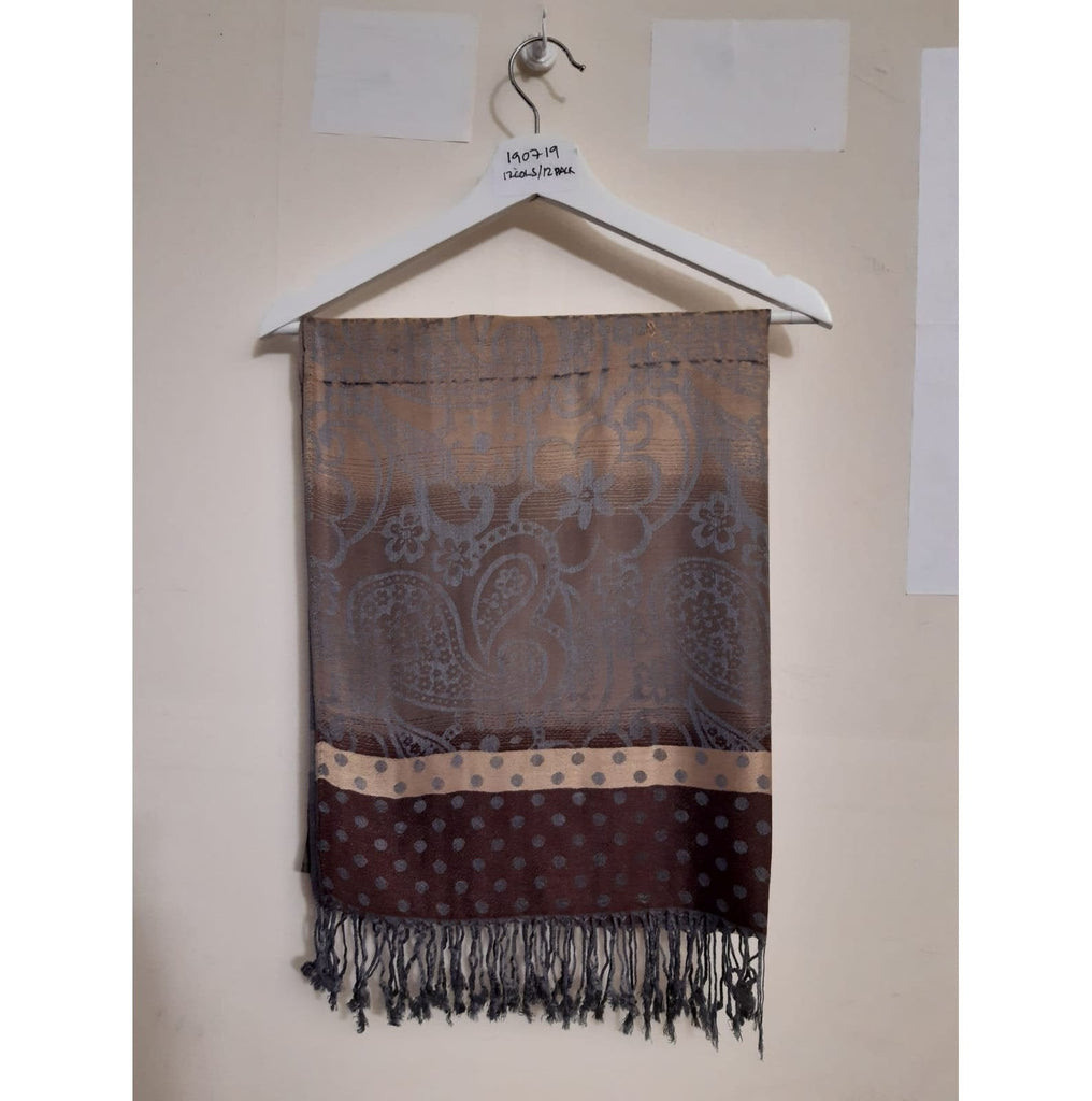Scarves Pashmina Scarf - PSH190719 - Vera Tucci OriginalsAccessories 5 Brown ?id=13634377678985