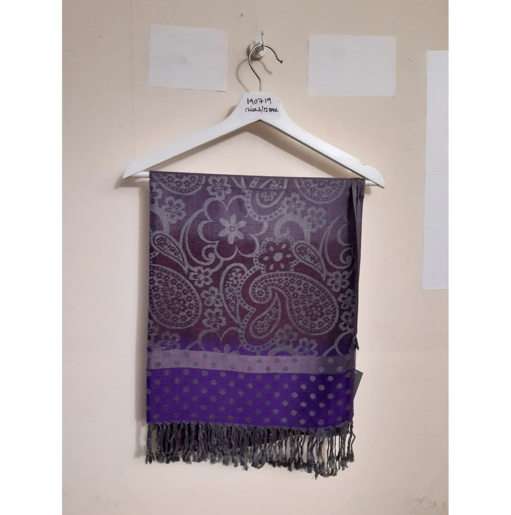 Scarves Pashmina Scarf - PSH190719 - Vera Tucci OriginalsAccessories 10 Purple ?id=13634377842825