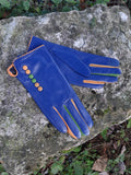 Gloves TIFFANY G01 Leather Multi Button Glove - Vera Tucci OriginalsAccessories ROYAL BLUE / SMALL