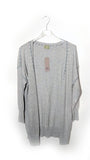 Knitwear Ladies Contrast Stitch Cardigan - J11 - Vera Tucci OriginalsItalian Clothing