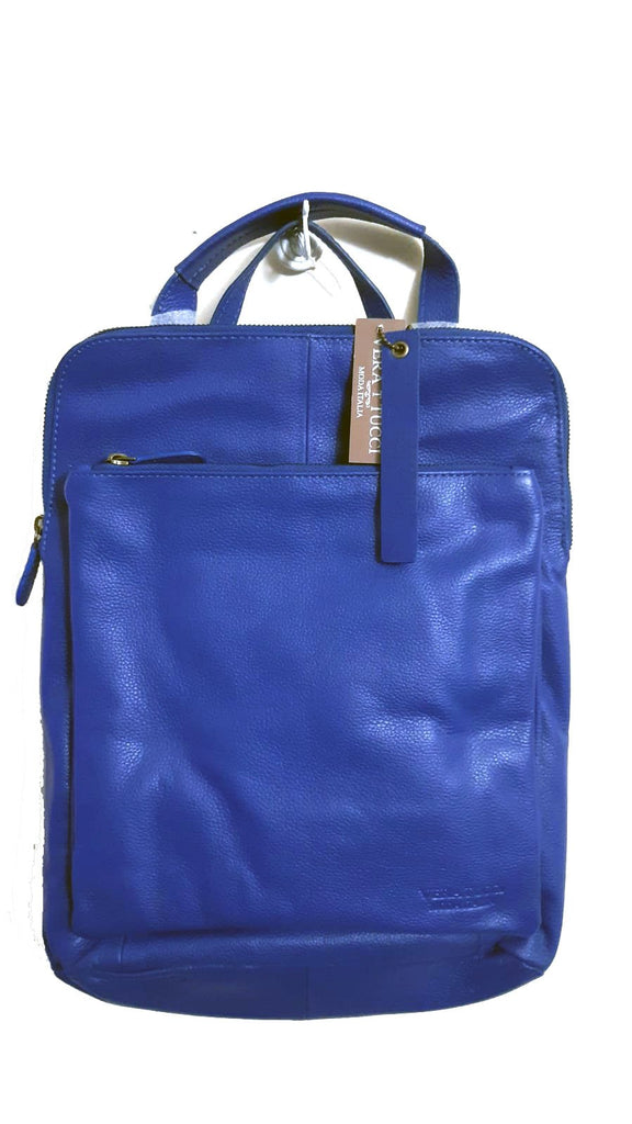 Leather Bag Layla - Vera Tucci OriginalsBags ROYAL BLUE
