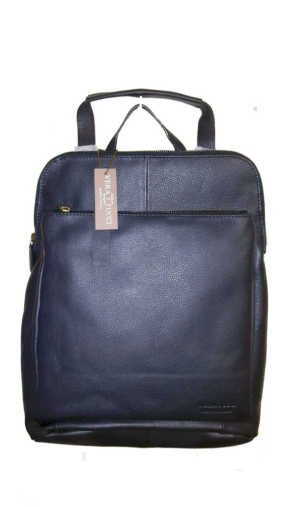 Leather Bag Layla - Vera Tucci OriginalsBags NAVY