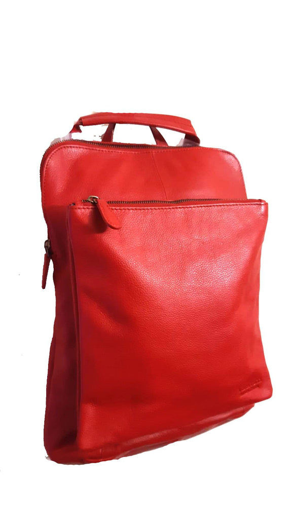 Leather Bag Layla - Vera Tucci OriginalsBags RED