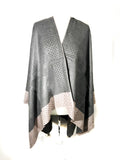 Poncho KELLY - Studed Poncho - Vera Tucci OriginalsAccessories
