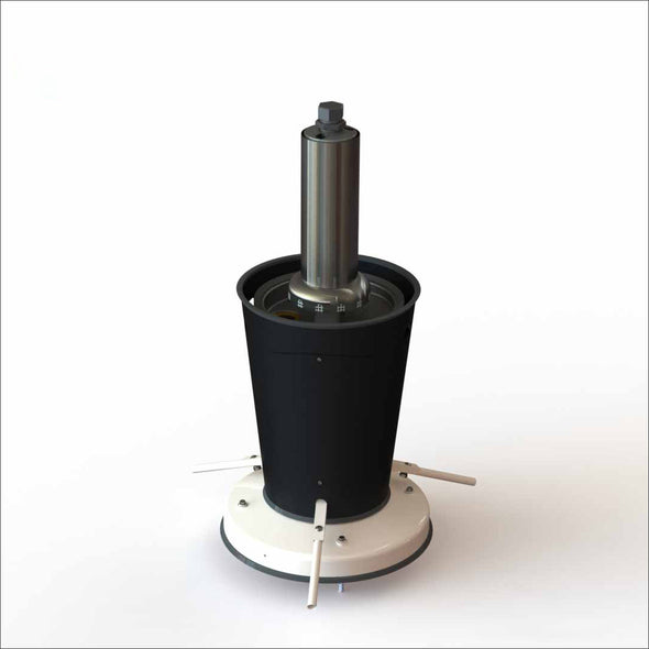 01PFR - Complete Pedestal Assembly for Collective Foot Sanispray