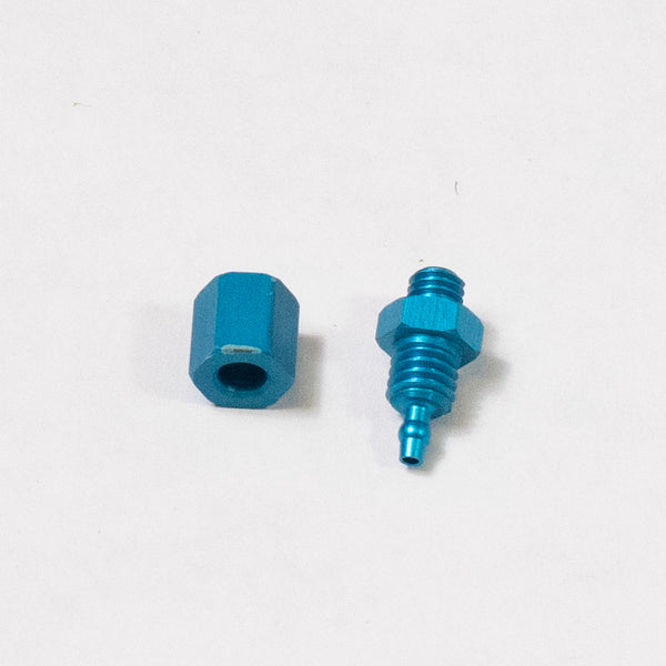 NFSET - Blue Nut (P2917) and Ferrel (P2916) For Intersan Mechanical Valves