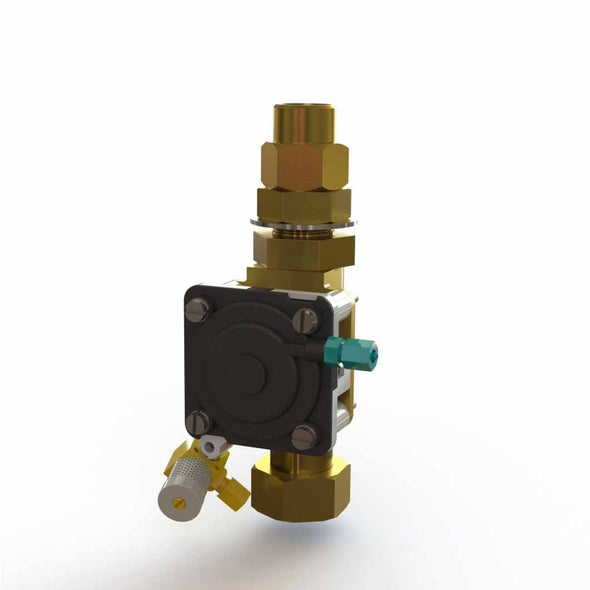 P5010 - Valve for Intersan Push Button Washfountains with Sprayring