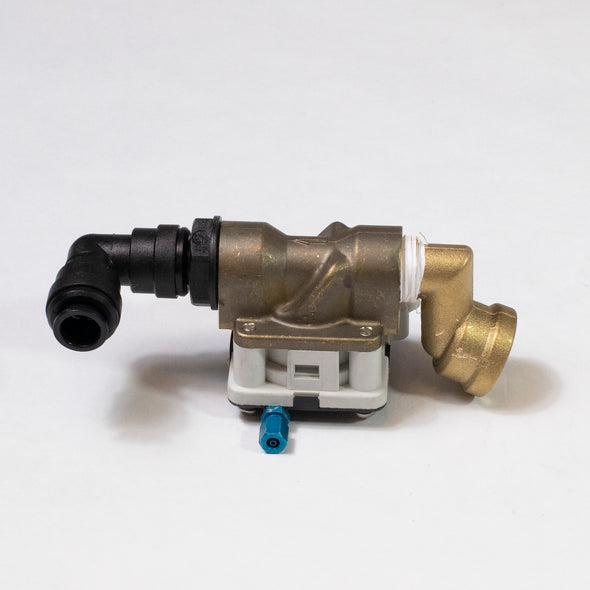 P5015EH - Valve with Elbow for Current Generation Foot Operated Intersan Sanispray Washfountain