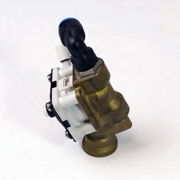P5030EH - Tall End Valve for Sanispray with Individual Pushbuttons