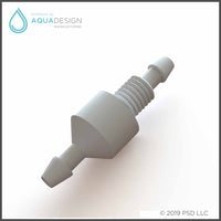 SPCHV-W - White Soap Check Valve for Intersan Washfountains and Fixtures