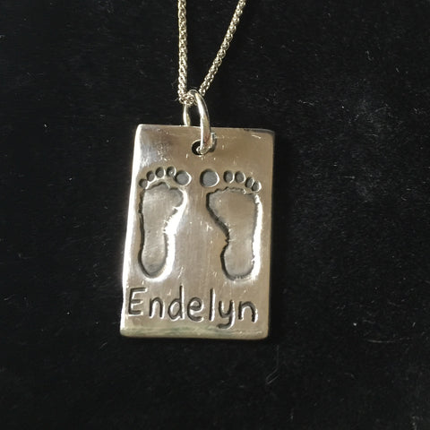 Hand and Foot Dog Tag