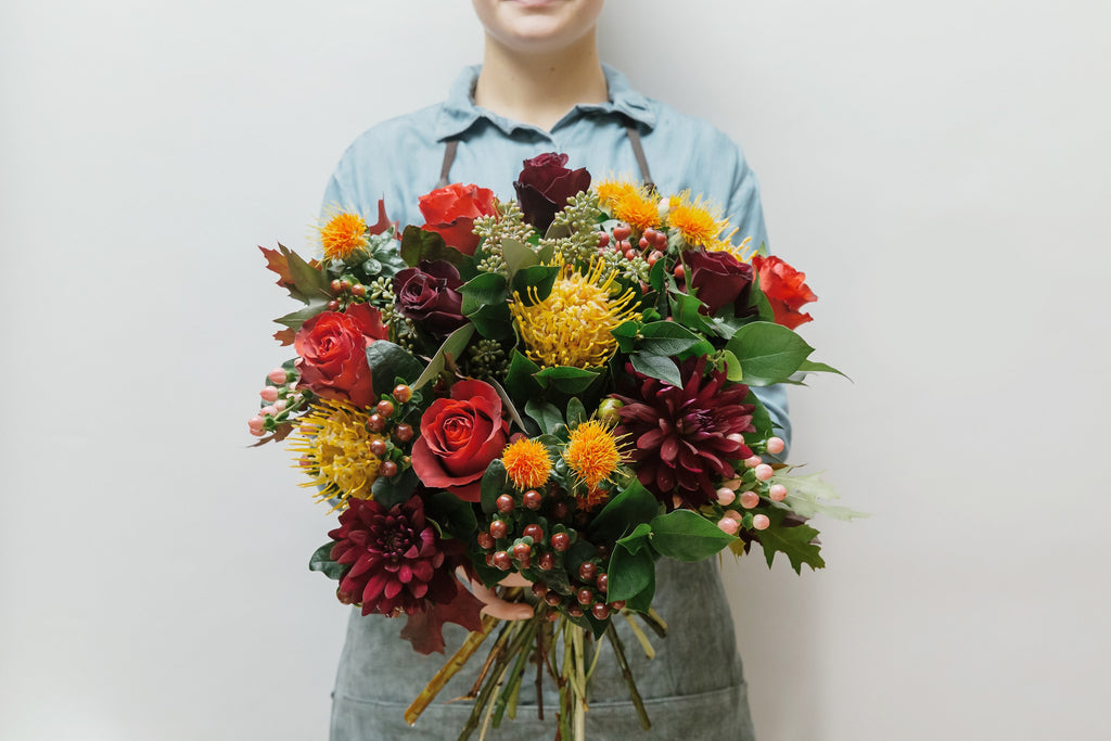 Vibrant Winter Posy
