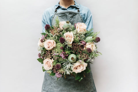 Herb & Rose Posy