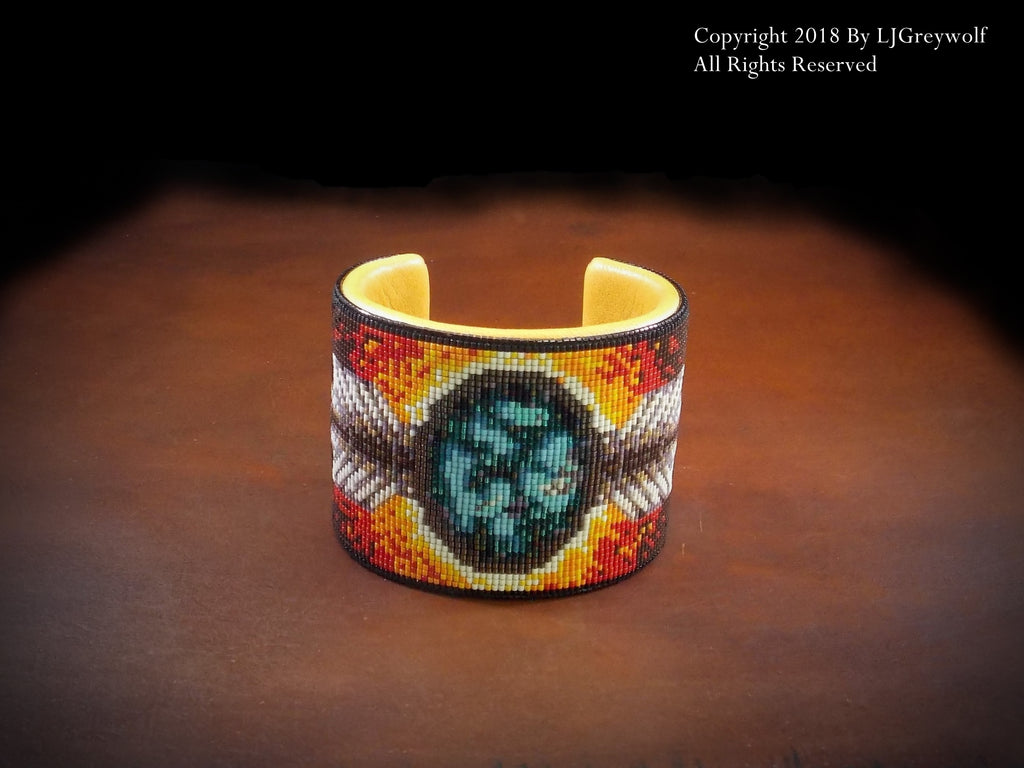 Creation Native American Beaded Bracelet
