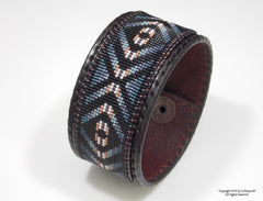 Eye Of The Medicine Man Beaded Bracelet