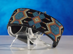 Native American Beaded Morning Star Cuff Bracelet
