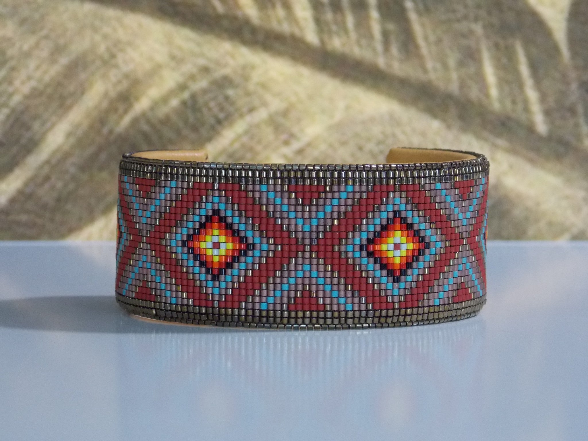 how to make native american beaded bracelets