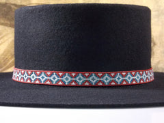 American Star Beaded Hat Band