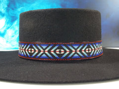 Beaded Eye Of The Medicine Man Hat Band
