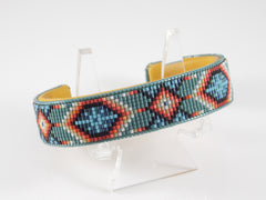 God's Eye Native American Beaded Bracelet
