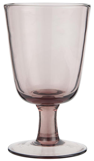 Rose Pink Wine Glass