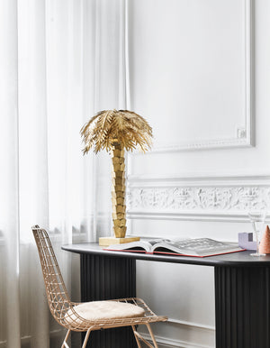 Brass Palm Table Lamp    PRE ORDER OCTOBER
