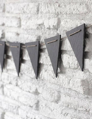 Slate Party Bunting
