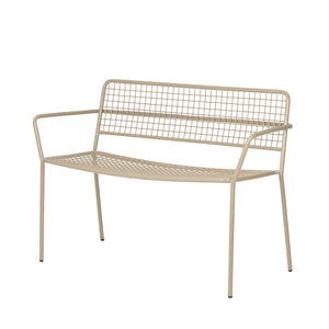 Taupe Fine Framed Garden Bench. PRE ORDER JULY