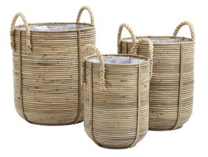 Large Rattan Baskets