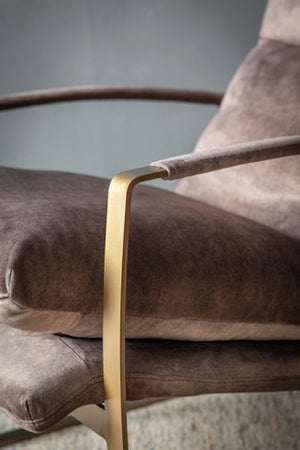 Brown Relax Arm Chair. PRE ORDER MARCH