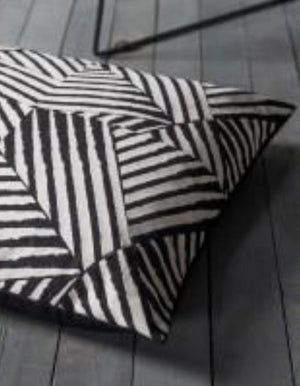 Black & White Geo Floor cushion