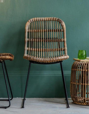 Natural Rattan Dining Chair PRE ORDER JANUARY