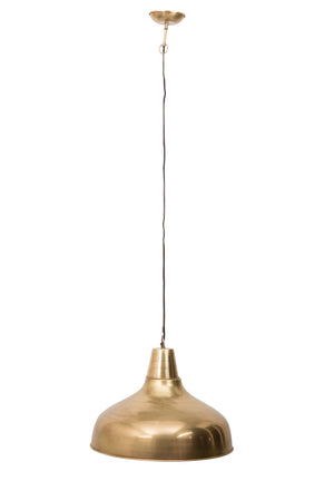 Large Brass Pendant Lamp
