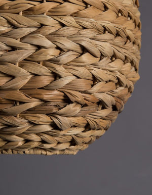 Braided Wicker Pendant Shade