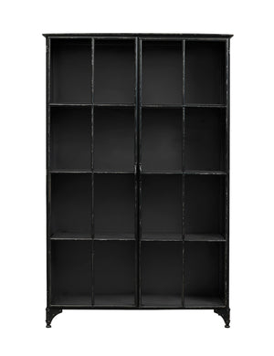 Black Industrial Iron Cabinet. PRE ORDER END SEPTEMBER