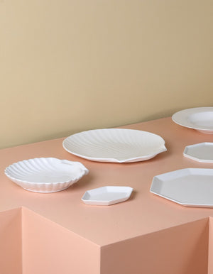 Bone China Shell Serving Tray PRE ORDER JANUARY