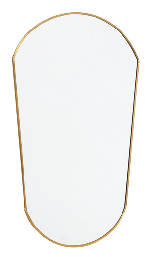 Gold Edged Vintage Style Wall Mirror