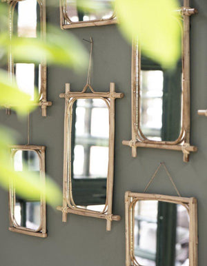 Bamboo Rectangle Mirror