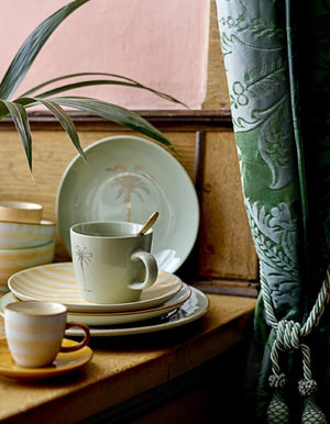 Palm Tree Crockery