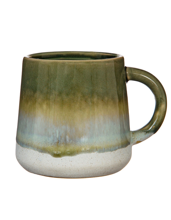 Glazed Ombre Green Mug